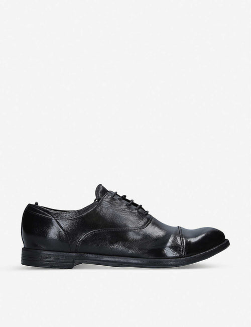 Anatomia laceless leather Derby shoes