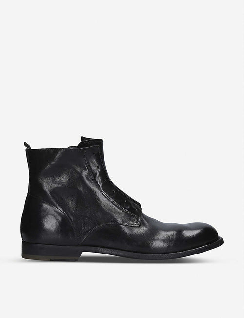 Graphis leather boots