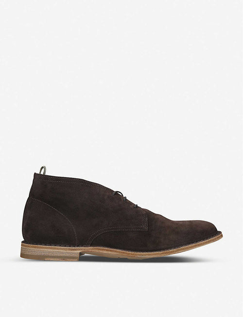Staple leather chukka boots