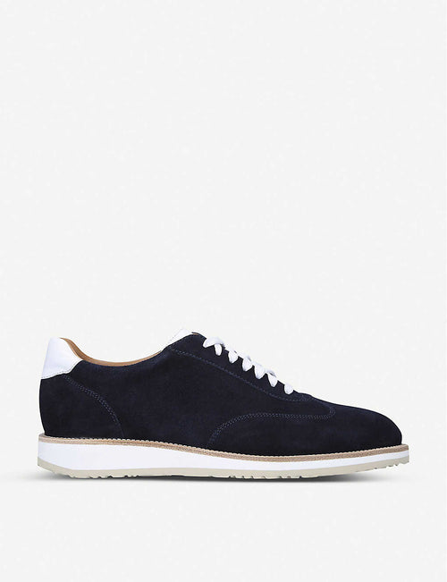 Oxford suede trainers