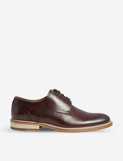 Galeri leather Derby shoes