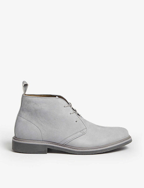 Messias leather desert boots