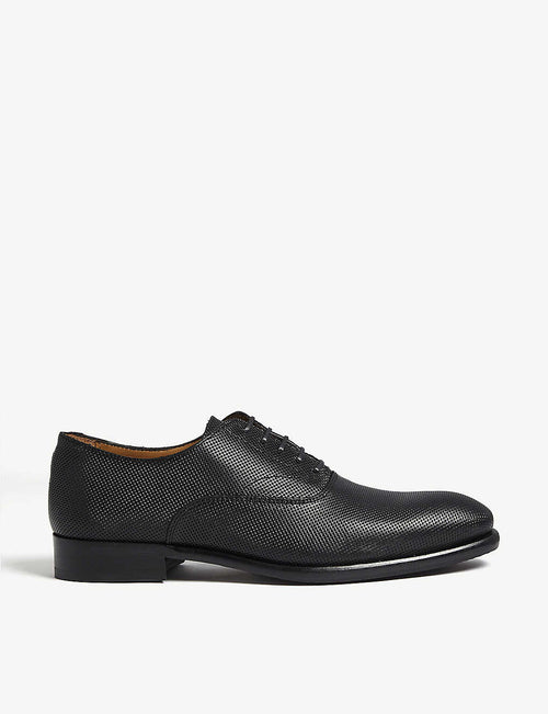 Girawien perforated leather Oxford shoes