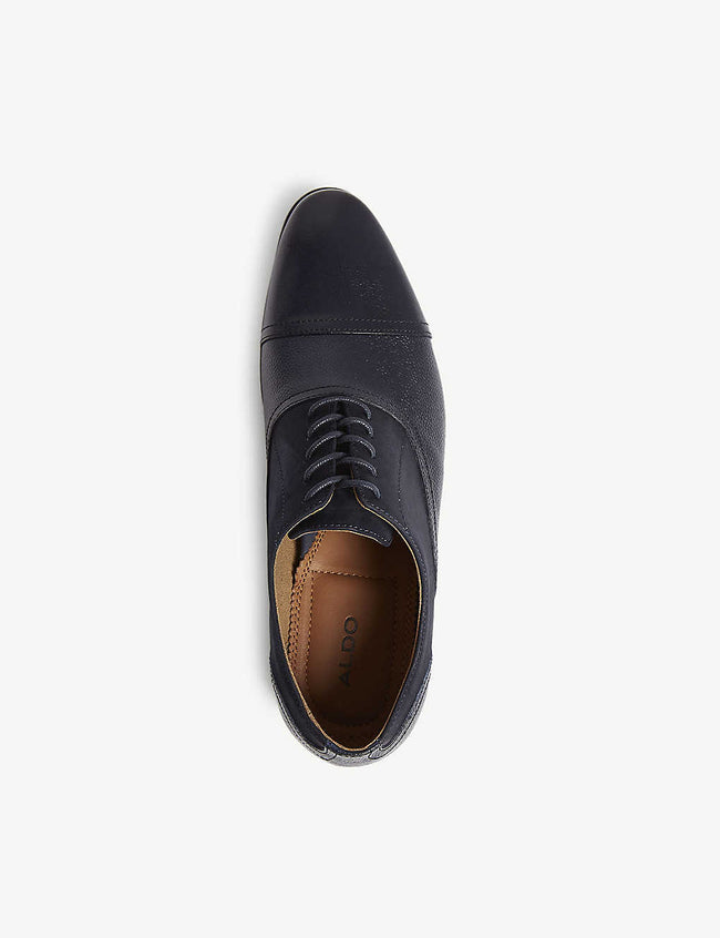 Nalessi leather mix brogues