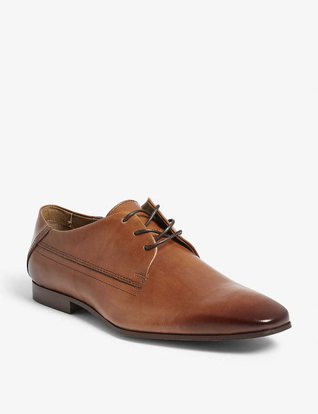 Honnorat leather derby shoes