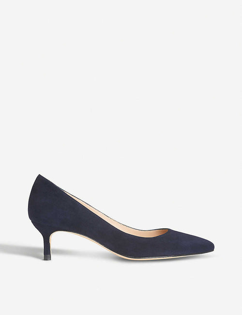 Audrey suede courts