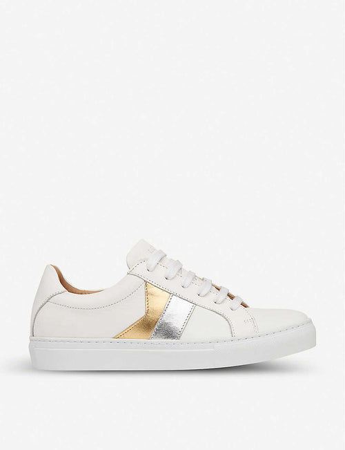 Alvia leather trainers