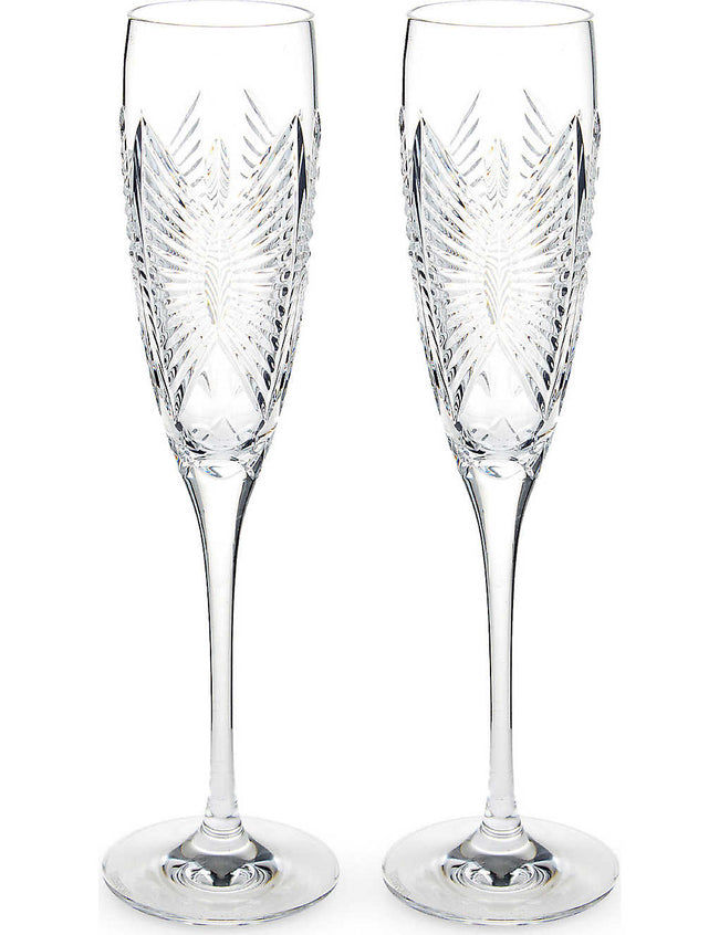 Love Forever set of two flutes