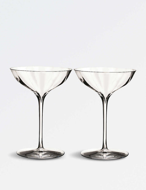 Elegance Optic Belle Coupe champagne glasses set of two
