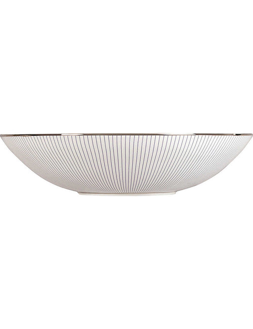 Pinstripe cereal bowl 18cm