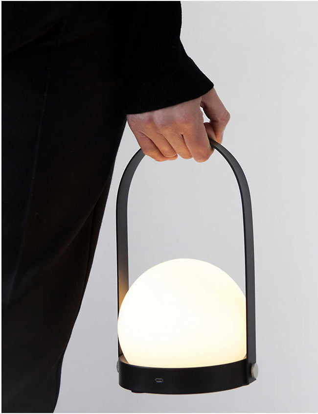 Norm Architects Carrie LED portable lamp