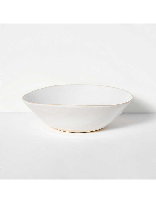Wonki Ware organic sand medium salad bowl 26cm