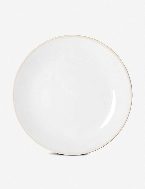 Wonki Ware clay dinner plate 28cm