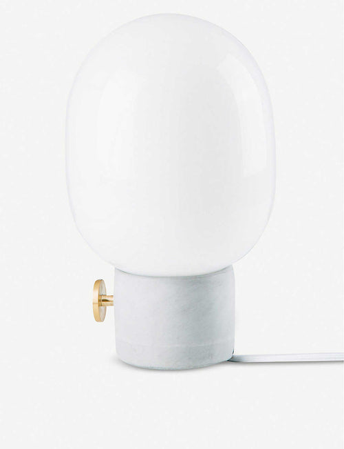 Jonas Wagell JWDA marble and brass lamp 29cm