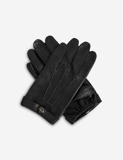 Fleming leather driving gloves