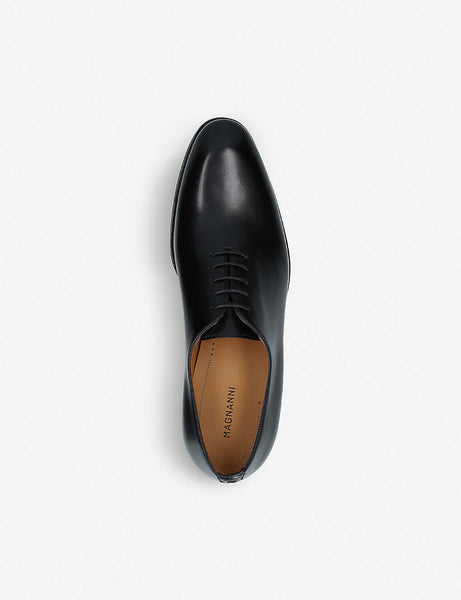 Flex Wholecut leather oxford shoes