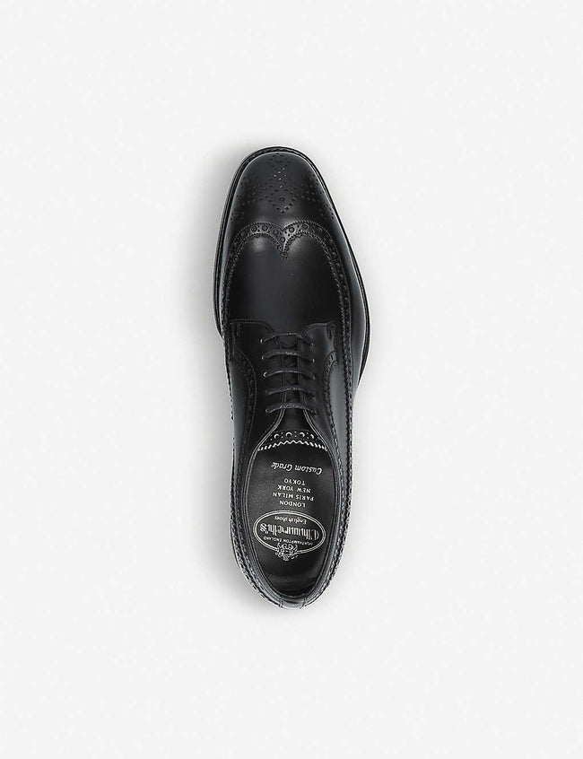 Portmore leather brogue Derby shoes