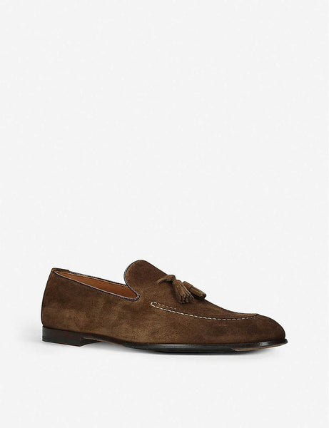 Max flexi suede loafer