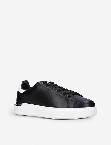 Keaton faux-leather trainers