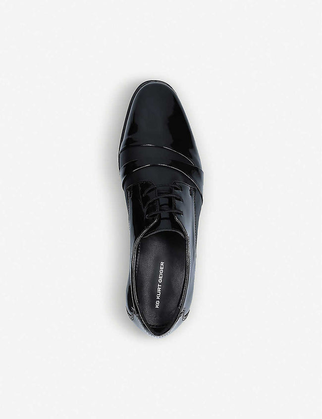 Steele leather Derby shoes