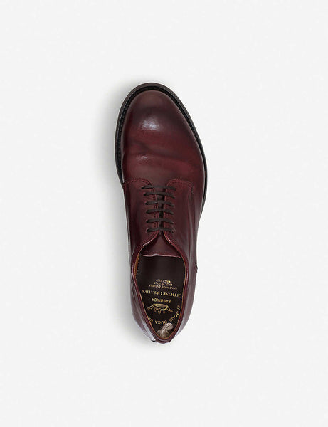 Anatomia derby leather shoes