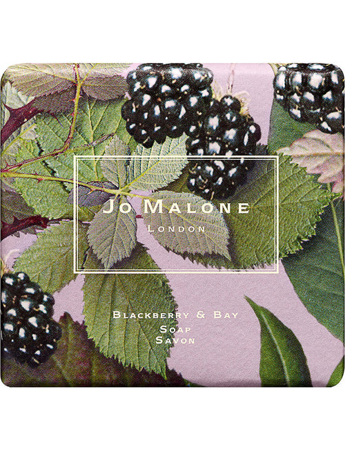 Blackberry & bay bath soap 100g