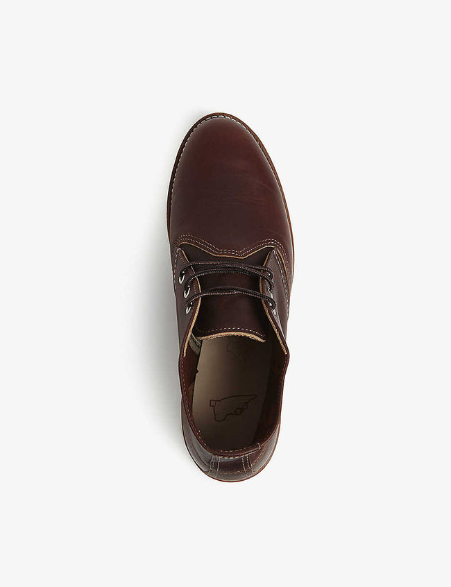 3141 leather Chukka boots