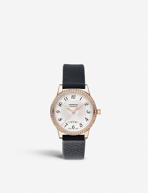 111059 Boheme rose-gold and diamond watch