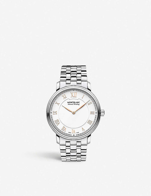 119963 Tradition stainless steel watch