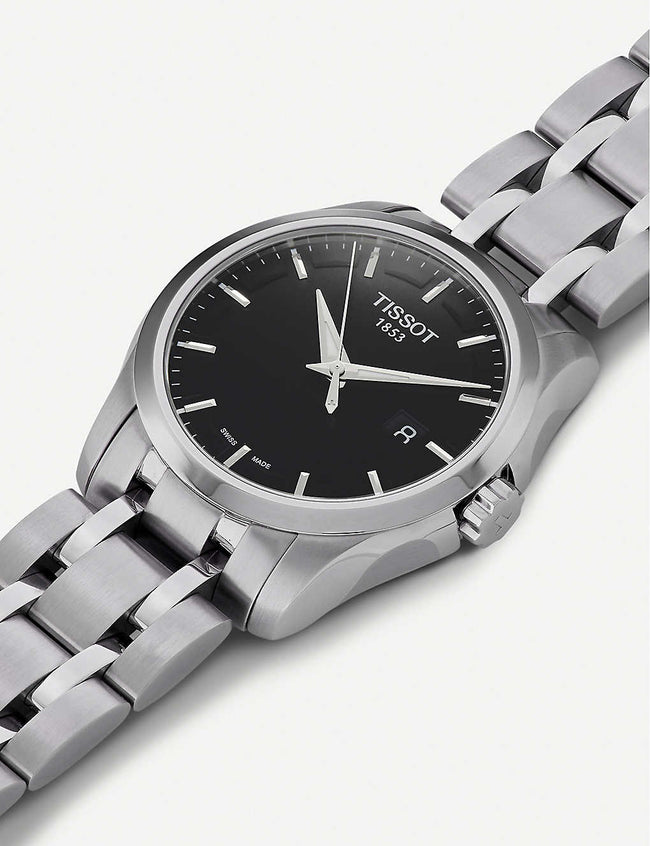 T035.410.11.051.00 Couturier stainless steel watch