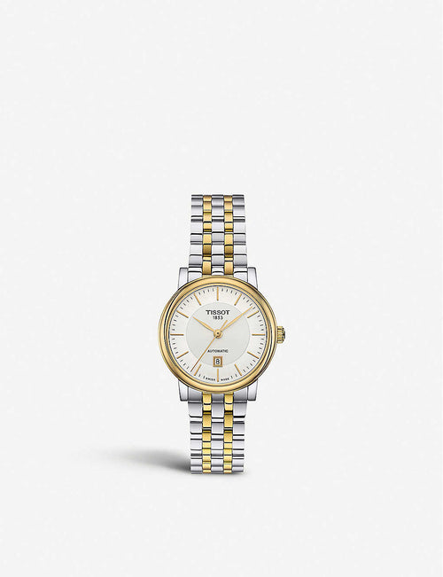 T122.207.22.031.00 Carson stainless steel and yellow-gold PVD watch