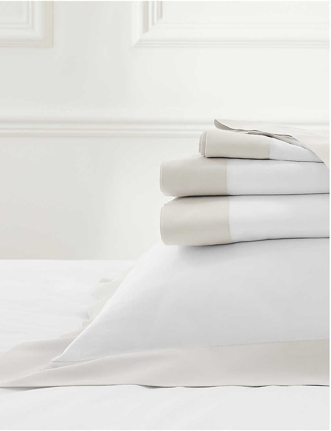 Camborne cotton-sateen pillowcase 65x65cm