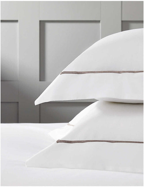 Savoy cotton pillowcase standard 75cm x 50cm
