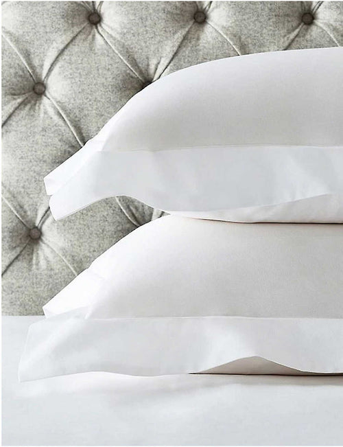 Row Cord egyptian-cotton housewife standard pillowcase 75x50cm