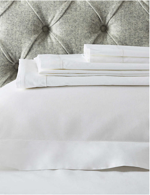 Raw Cord egyptian-cotton super king pillowcase 90x50cm
