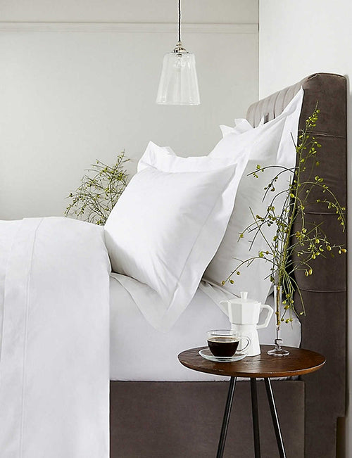Savoy Oxford cotton pillowcase