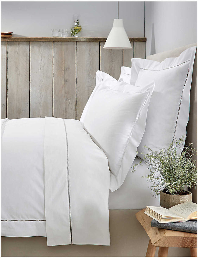 Santorini cotton Oxford pillowcase 65cm x 65cm