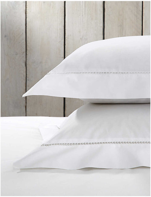 Santorini superking cotton Oxford pillowcase 50x90cm