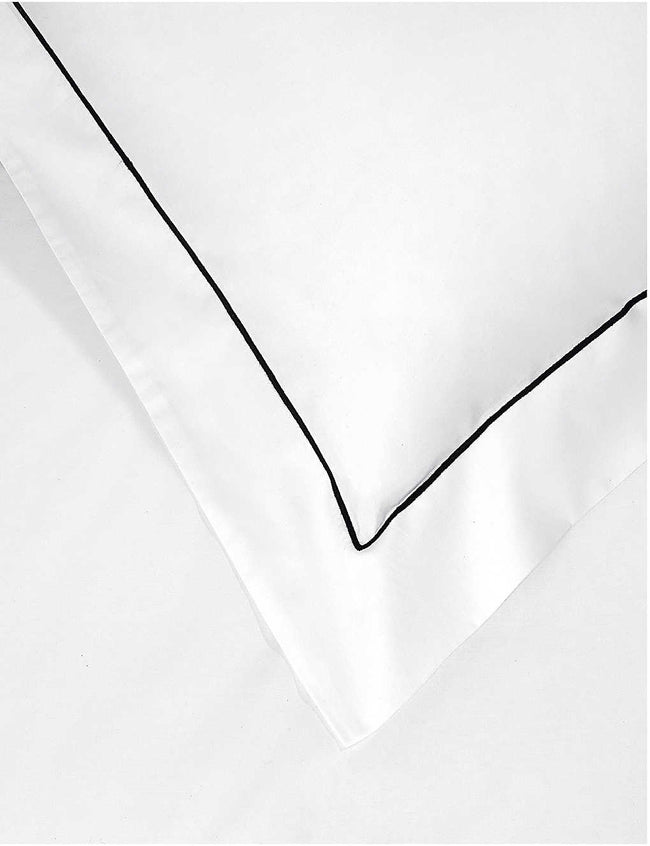 Single Row Cord Egyptian cotton Oxford pillowcase 50cm x 75cm