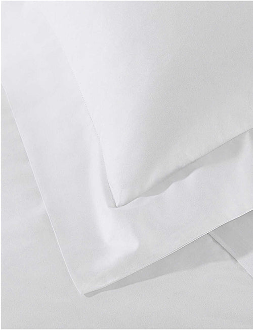 Essentials egyptian-cotton super king pillowcase 50x90cm