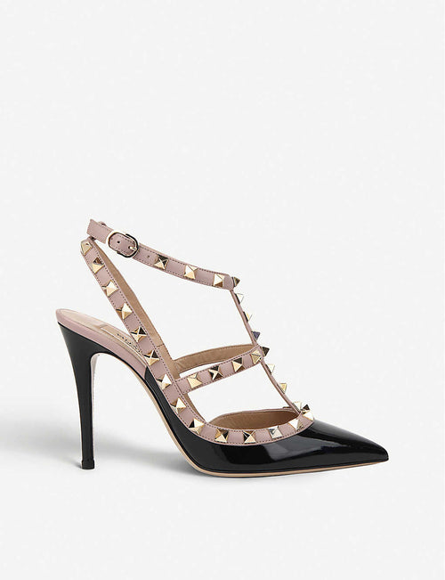 Rockstud 100 leather courts