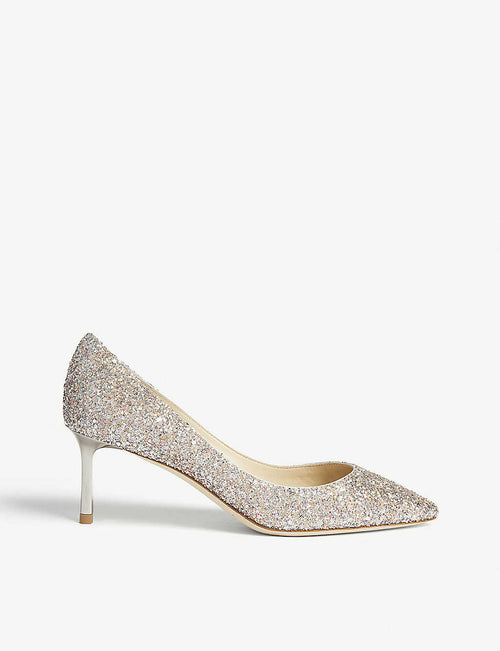 Romy 60 speckled glitter courts