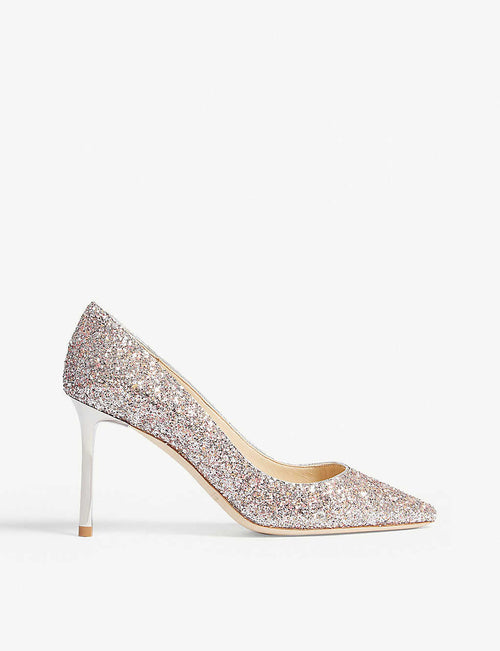 Romy 85 speckled glitter courts