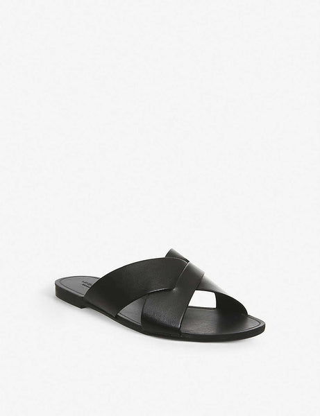 Tia leather sandals