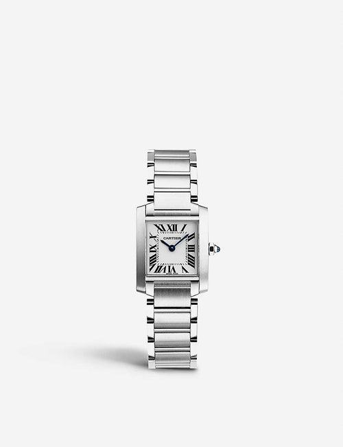 Tank Fran?aise stainless steel watch