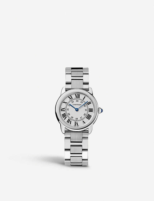 Ronde Solo de Cartier stainless steel watch