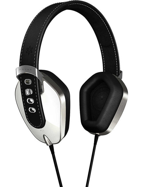 01 over-ear liquorice cream headphone