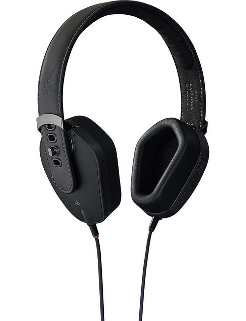 Notte leather over-ear headphones