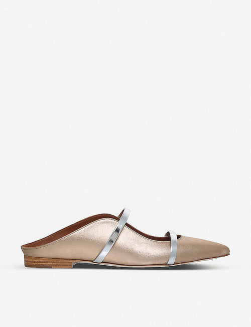 Maureen metallic flats