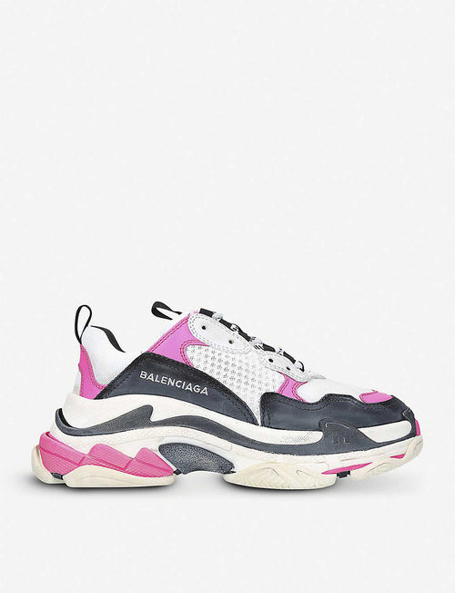 Triple S oversized trainers